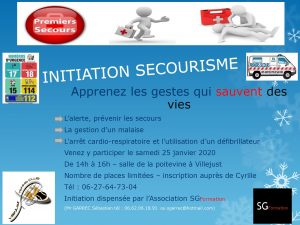 Initiation Secourisme