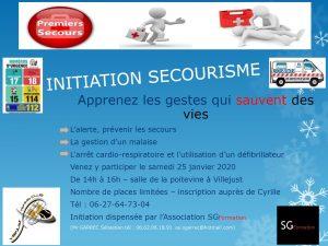 Initiation Secourisme