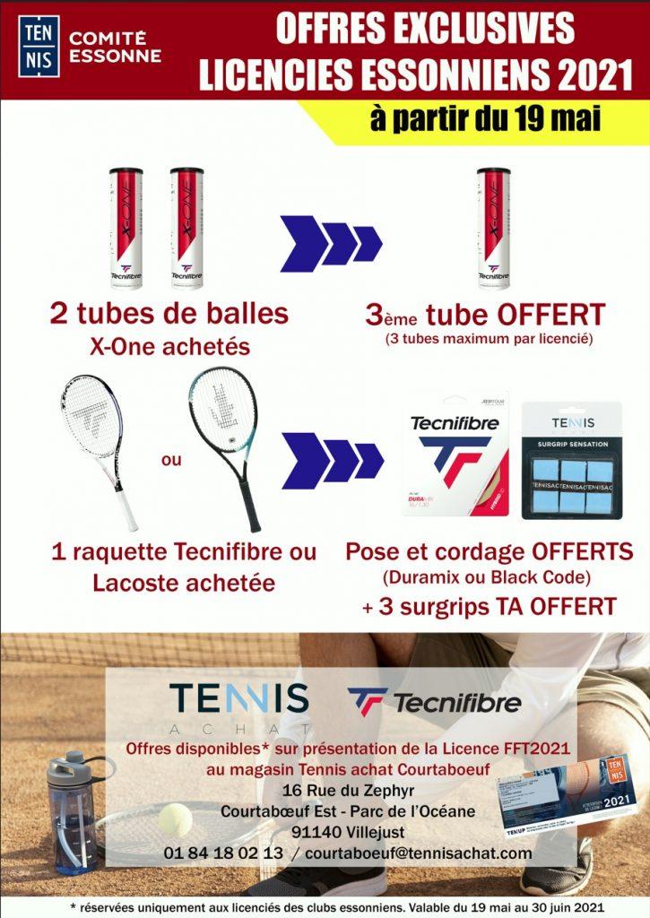 Offre de notre partenaire Tennis Achat